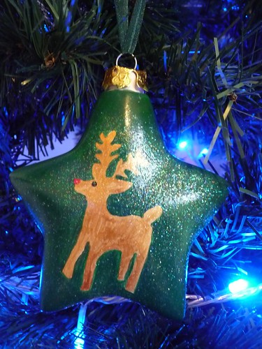 Handmade Christmas tree ornament