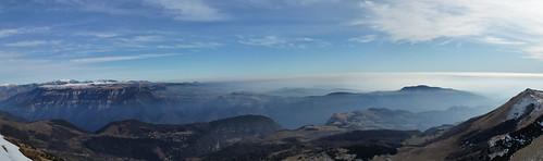 view of la Lessinia from Costabella (M Baldo)