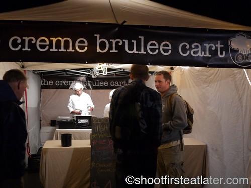 the creme brûlée cart