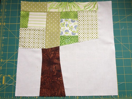 Sunni\'s Block Pre-Hand Stitching