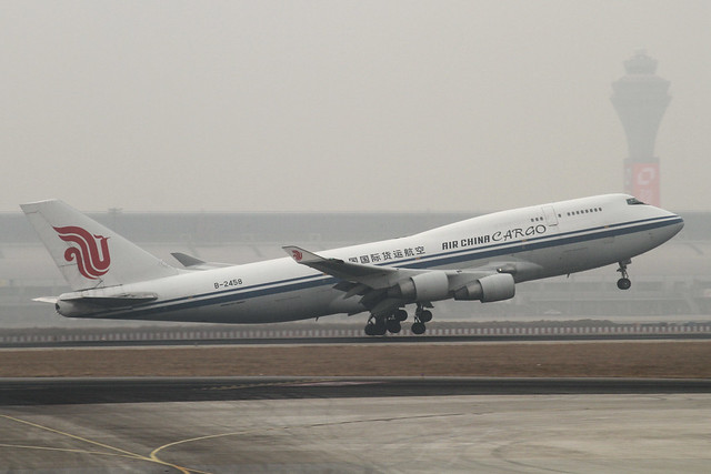 Air China B747-400BCF(B-2458)