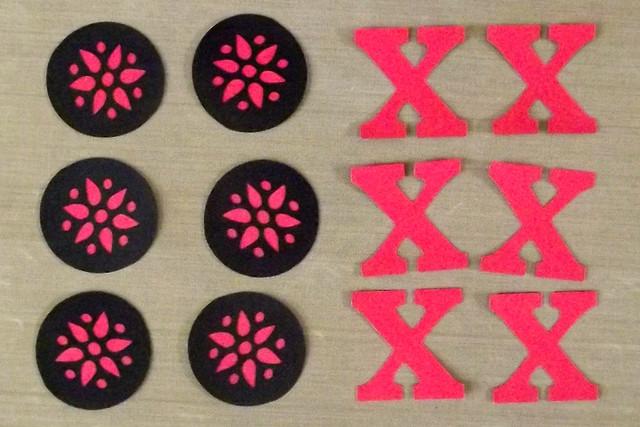 Tic-Tac-Toe Pieces