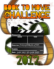 Books to Movie Challenge hosted by Parajunkee