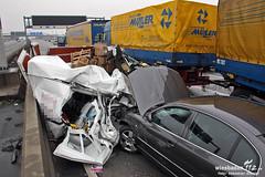Verkehrsunfall A66 Wiesbadener Kreuz 27.01.12