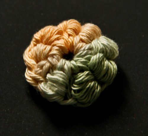 Bullion Crochet Flower