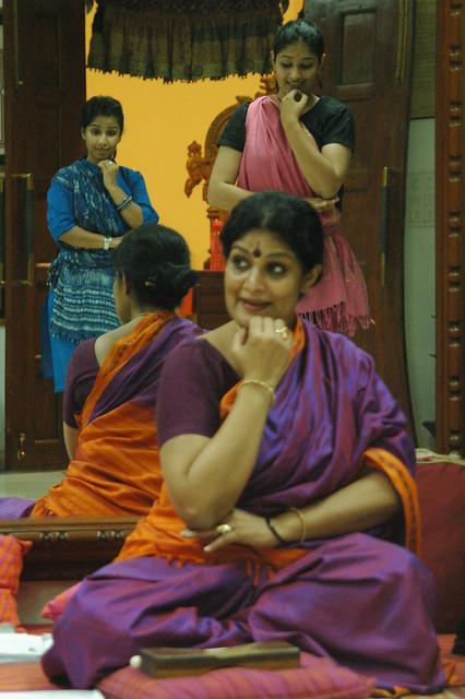 Guru Geeta Chandran, Danseuse and teacher, Bharatanatyam, Delhi