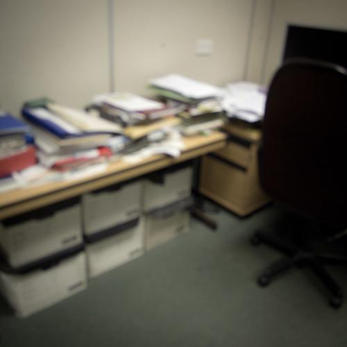 Clean desk policy (we've heard of it)