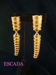 escada earrings