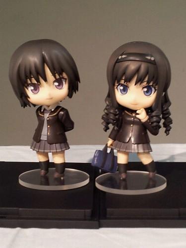 Nendoroid Nanasaki Ai and Morishima Haruka