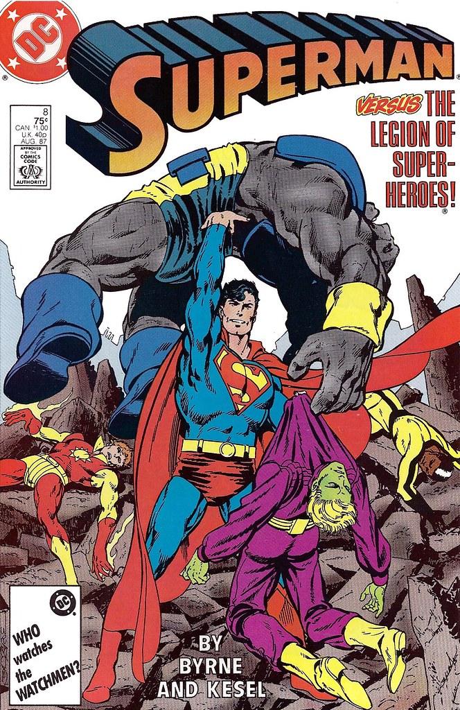 Superman vs Legion