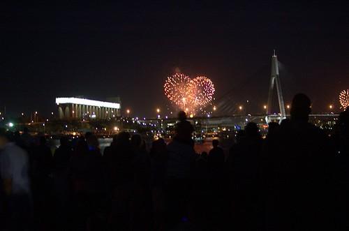 9 pm fireworks
