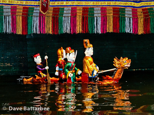 Water Puppets - Dragon Boat
