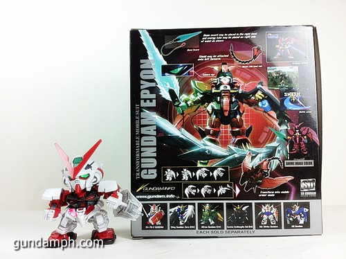 SD Gundam Online Capsule Fighter EPYON Toy Figure Unboxing Review (5)