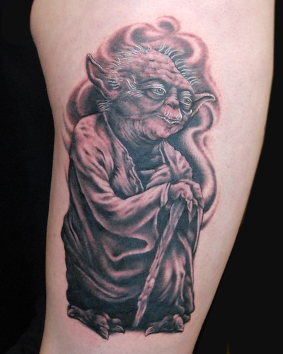 Yoda by Chris Adams  by UndertheNeedle