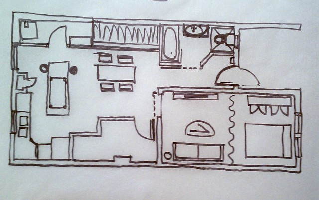 Basement brainstorming plans #1