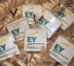 EY custom corporate cookies