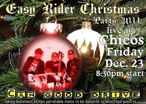 Easy Rider 12-23-11  8.30pm