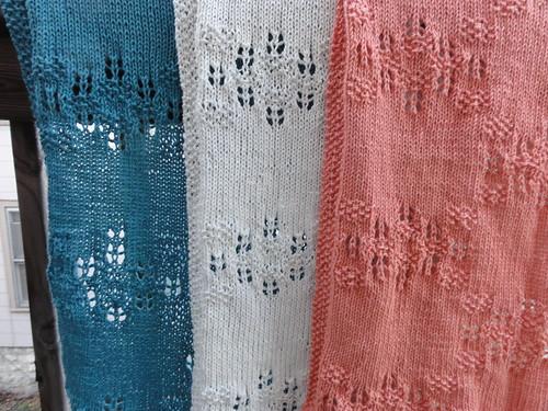 Trio of Lady Tea Towels