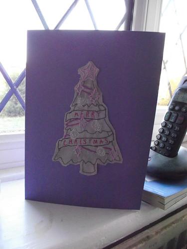 Urban Threads Christmas card