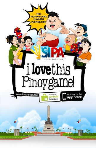 Sipa pinoy game on Android & iTunes