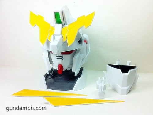 Banpresto Gundam Unicorn Head Display  Unboxing  Review (18)
