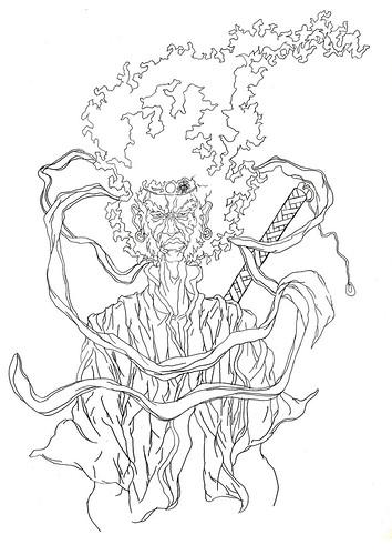 Afro Samurai Tattoo by kiboko HachiYon