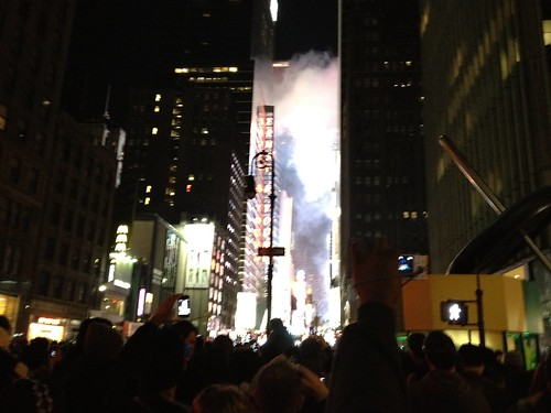 Happy New Year from Times Square!