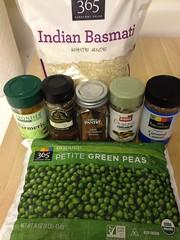 indian rice ingredients