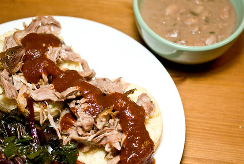 pulled pork supper