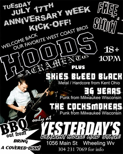 Old Skies Bleed Black Flyer