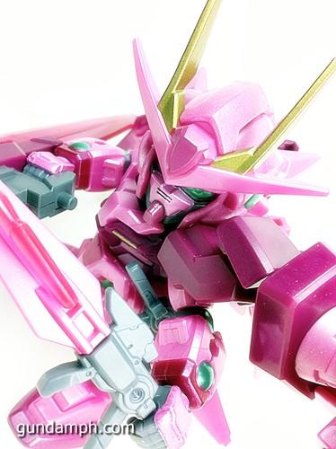 SD Gundam Online Capsule Fighter Trans Am 00 Raiser Rare Color Version Toy Figure Unboxing Review (65)
