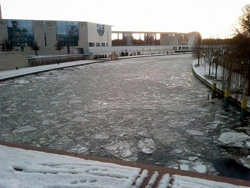 Berlin, ice.