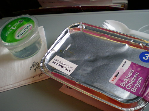 Air Asia pre-booked meal