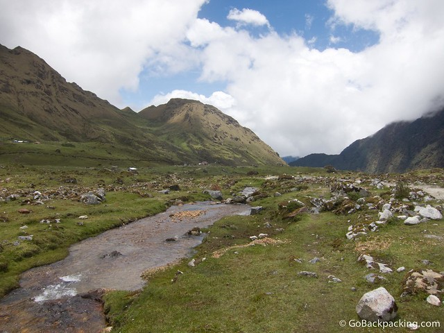 Lunch on Day 2 was in Huayracpampa, small encampment in this beautiful valley
