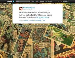 Twitter Advent Calendar: Day 18, Comics!