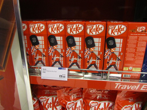 Kit Kats at Heathrow