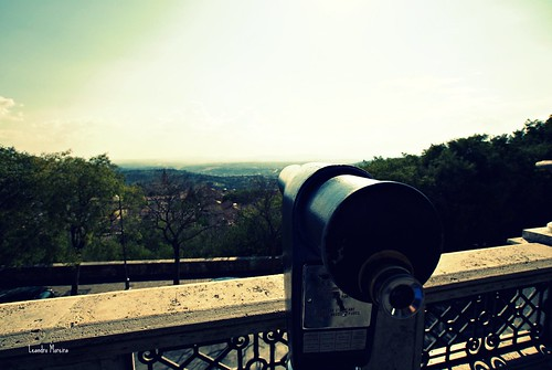 Vista do Giardini Carducci
