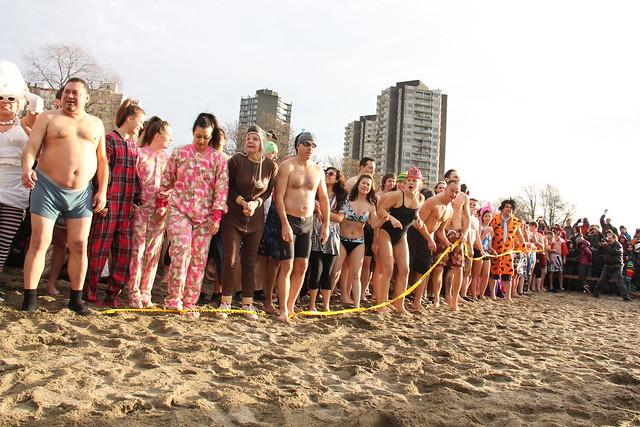 Vancouver Polar Bear Swim 2012 |
