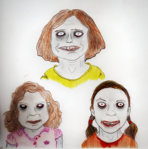 zombie children by Giant Hamburger