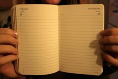 Moleskine Planner - open daily
