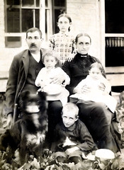 Pleasant M Rogers and Margaret Clark Rogers Family