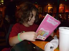 Reading at BB King's