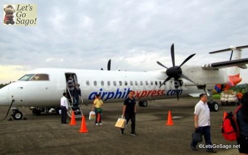Sagos First in Airphil Express Propeller Plane