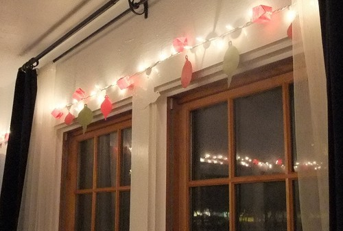 Twinkly garland
