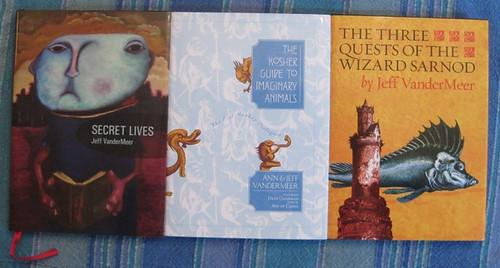 three small books
