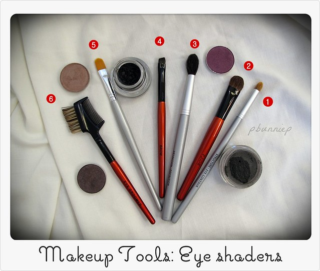 Makeup brushes --The Basics