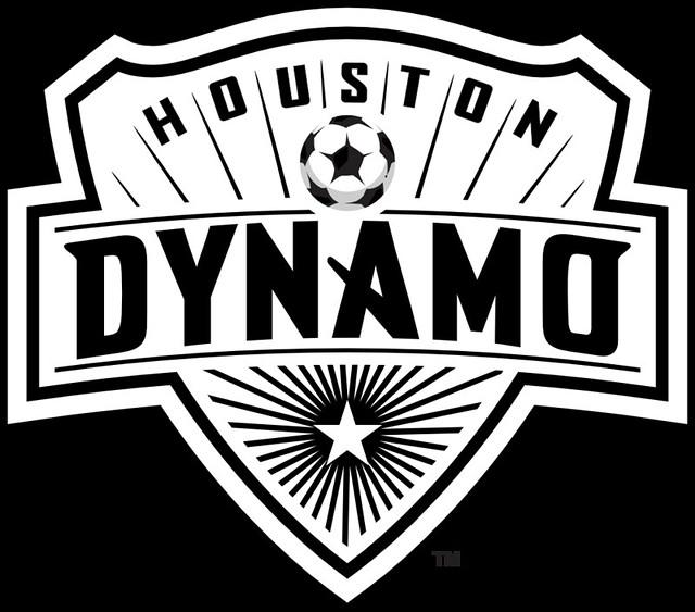Black & White Dynamo Logo | Space City Blue
