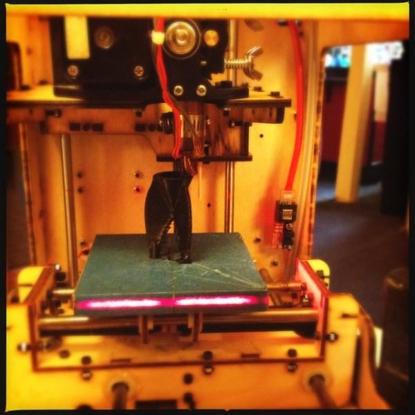 Printing a rocket ship