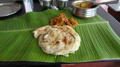 Parotta and Chettinad Fish Masala