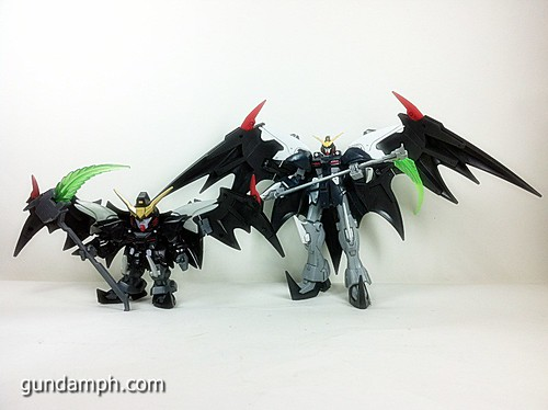 SD Gundam Online Deathscythe Hell Custom Toy Figure Unboxing Review (47)